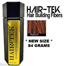 Hair-tek Hair Building Fibers Instantly Conceal Balding  1 - 84gms Auburn
