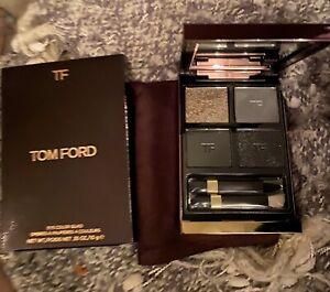 Tom Ford Eye Color Quad 10 TITANIUM SMOKE Eye Shadow New in Box
