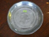 Rarität kleiner alter ca. 200 Jahre alter Zinn Suppenteller oder Katzenteller n2