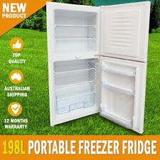 NEW 198L Portable Freezer Fridge 12V/24V/240V Camping Car Boating Caravan