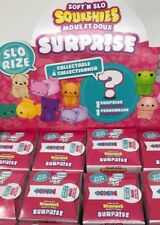 Soft 'n Slo ORB Squishies Surprise Cartons Series 2 SLO RIZE Minis Lot of 3