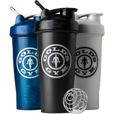 Garrafa Blender Gold's Gym Classic 28 Oz. Coqueteleira Com Loop Top