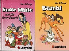 Ladybird Books: Series 845, Walt Disney - Snow White; Bambi