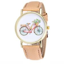 LADIES TRADITIONAL BIKE WATCH - GUARANTEED + SPARE BATTERY - FREE UK P&P..CG1061