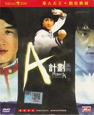 Project A Part  I II (1983 ,1987) English Sub Movie DVD Collection _ Jackie Chan