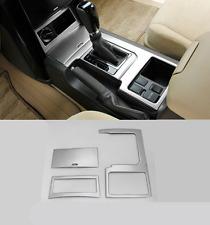 stainless Interior Gear Shift Frame Cover Trim for Toyota Prado FJ150 2014-2016