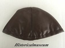 Leather Lining Cap For Armor Helmets ~ Medieval Knight Spartan ~ Armer Liner