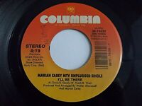 Mariah Carey I'll Be There / So Blessed 45 1992 Columbia Vinyl Record