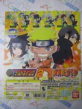 Anime Comic Naruto Swing Part 2 Gashapon Toy Machine Paper Card Bandai Japan