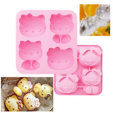 Hello Kitty Madeleine Mold Ice Tray Cube Chocolate Cookie Candy Jelly Bread Pink