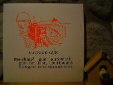 PETER BROTZMANN OCTET Machine Gun LP/1968/FMP/Cien Fuegos/EURO FREE JAZZ MONSTER