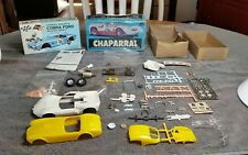 vintage Palmer Chaparral and Revell cobra 1:32 slot car parts