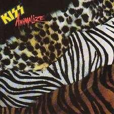 Animalize - Kiss CD MERCURY
