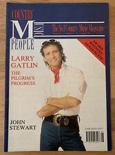 COUNTRY MUSIC PEOPLE Aug 1991 Larry Gatlin Glen Campbell John Stewart