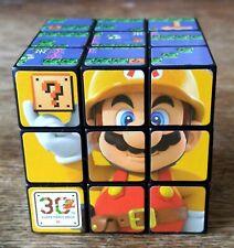 RARE PROMO NINTENDO WII U SUPER MARIO MAKER PUZZLE CUBE - 30TH SUPER MARIO BROS