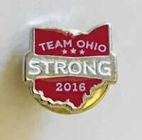 Team Ohio Strong Life Center Transplant Donors Recipients Pin Badge Rare (G8)