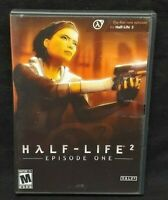 Half-Life 2: Episode One (PC, 2006) PC CD-ROM Complete Mint Discs 1 Owner