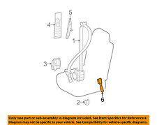 73230-53171-A0 Toyota Belt assy, front seat inner, rh 7323053171A0, New Genuine
