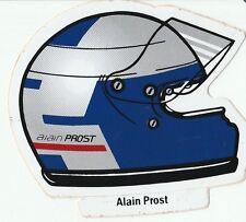 Alain prost casque 1988 decal original période autocollant aufkleber sticker rare