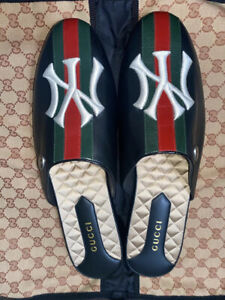 Men's Gucci NY slides Size 12 New With box