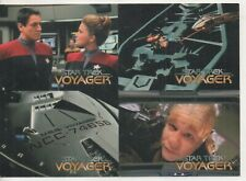 Star Trek Voyager Series One - Four Card SKYBOX Promo 1995