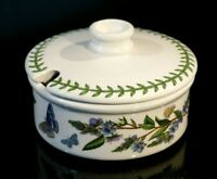 Beautiful Portmeirion Botanic Garden Speedwell Parmesan Pot & Lid