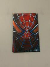 Spider-Man Comic Superhero Movie 12x18  Pop Art Painting Chris Cargill