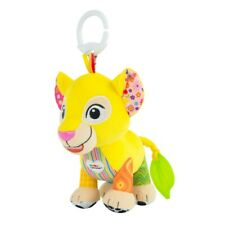 Lamaze Lion King Nala Baby Rattle Teether Toys Clip able In Stroller or cribs