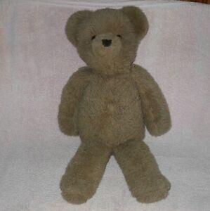 """Alresford Crafts Ltd ENGLAND  Teddy Bear  27"""" TALL GENTLY USED CONDITON"""