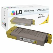 LD Compatible Okidata 44318601 Yellow Toner for C711dn/C711dtn/C711n/C711wt