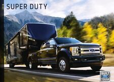 2018 Ford Super Duty Truck 54-page Original Sales Brochure Catalog F-250 F-350