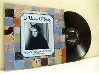"ALISON MOYET love resurrection (love injected remix) 12"" EX/EX TA 4497, uk vinyl"