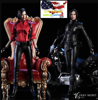 """1/6 female Motorcycle Jacket suit for Ada Wong 12"""" figure phicen hot toys ❶USA❶"""