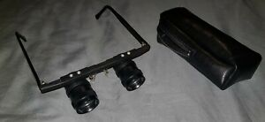 ESCHENBACH TELE 3X - GLASSES/SPECTACLES WITH CASE -MADE IN GERMANY -FOR DISTANCE