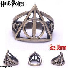 Harry Potter Ring Hollow Brozen Metal New 18#