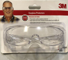 New listing 3M 47031-Wz6 Eyeglass Protectors with Scratch Resistant Lens, Frame: Clear &