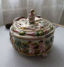 Vintage Original Trinket Dish Decorative Porcelain & China