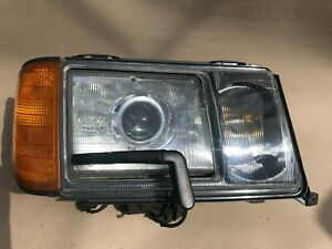 W124 USA Headlights with wipers/washers and corner lights