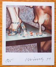 SIGNED LES KRIMS POLAROID - FICTKRYPTOKRIMSOGRAPHS LIMITED EDITION 1/125 + PRINT