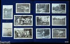 BOY SCOUT 1940 CAMP PHOTO BOOK TROOP 17 ELIZABETH, NJ - 21 ORIGINAL PHOTOS