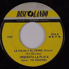 ORQUESTA LA PLAYA: La Pulga y El Perro DISCOLANDO Latin 45 Bomba