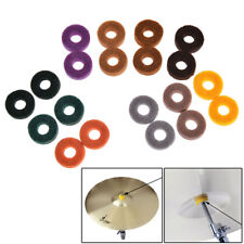 20x drum kit cymbal felt pads percussion accessories kit pad protection effect~~