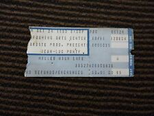 Jean-Luc Ponty Band Used Concert Ticket Stub Oct 24 1983