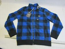 Abercrombie & Fitch Trail Fleece Full-Zip Mock Neck Hoodie Jacket Size M
