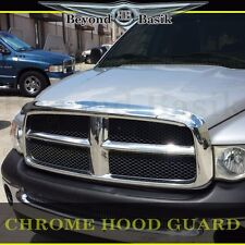 For 2002-2005 Dodge Ram 1500 2003-05 2500 Chrome Hood Guard Bug Shield Deflector