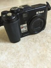 Nikon COOLPIX P6000 13.5MP Point & Shoot Digital Camera 4x zoom lens EXC cond.