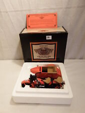 Harley-Davidson 1933 MOTORCYCLE/SIDECAR BANK - - Limited Edition - - RED