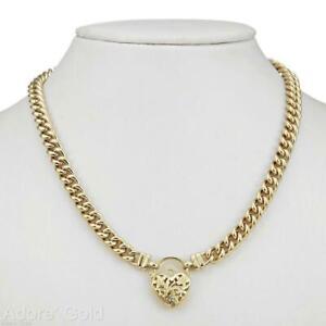 Collana da donna in oro giallo 18 carati GL massiccio con cordolo medio...