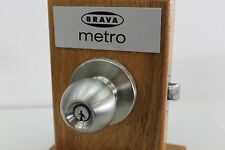 10 x BRAVA METRO ENTRANCE KNOB SETS FIRE RATED 60MM  KEYED ALIKE OR TO DIFFER
