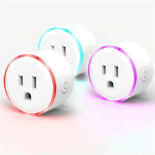 US Plug Mini Smart Wifi Socket Wireless Switch Home Remote Control Timer Outlet